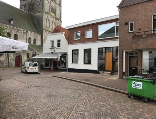 Verbouw winkelpand te Oldenzaal
